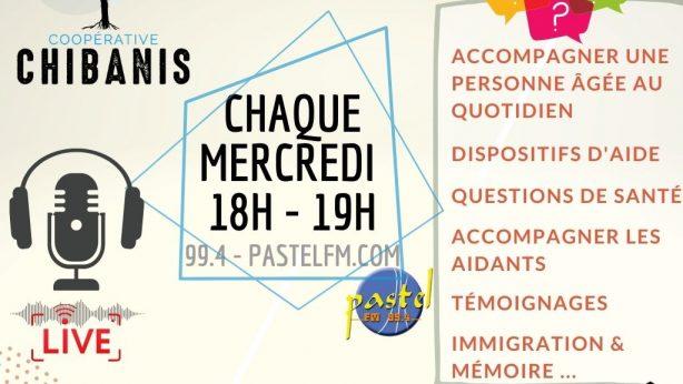 Retrouvez-nous chaque mercredi sur Pastel FM !