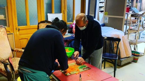 Opération repas solidaires